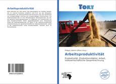 Buchcover von Arbeitsproduktivität