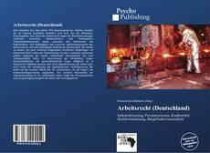 Buchcover von Arbeitsrecht (Deutschland)