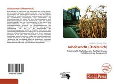 Buchcover von Arbeitsrecht (Österreich)