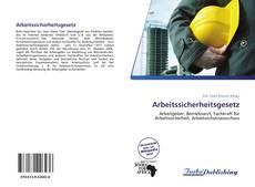 Buchcover von Arbeitssicherheitsgesetz