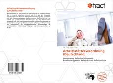 Capa do livro de Arbeitsstättenverordnung (Deutschland)