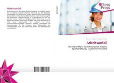 Bookcover of Arbeitsunfall