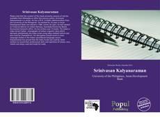 Обложка Srinivasan Kalyanaraman