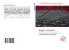 Couverture de Serge Grudzinski