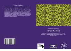 Capa do livro de Vivian Vachon