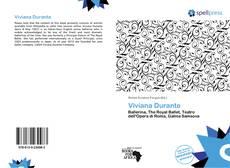 Bookcover of Viviana Durante