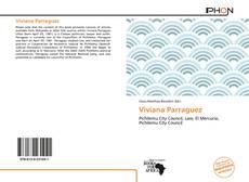 Portada del libro de Viviana Parraguez