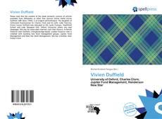 Обложка Vivien Duffield