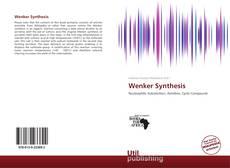 Wenker Synthesis kitap kapağı