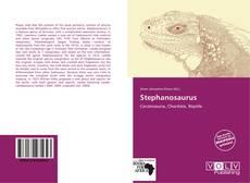 Capa do livro de Stephanosaurus