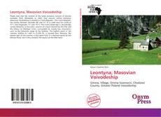 Portada del libro de Leontyna, Masovian Voivodeship