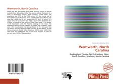 Bookcover of Wentworth, North Carolina