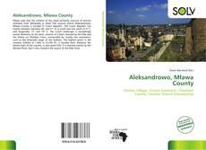 Aleksandrowo, Mława County kitap kapağı