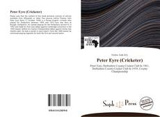 Bookcover of Peter Eyre (Cricketer)