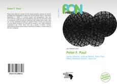 Bookcover of Peter F. Paul