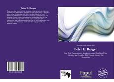 Bookcover of Peter E. Berger