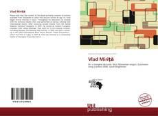 Capa do livro de Vlad Miriţă