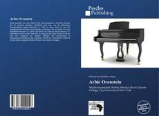 Arbie Orenstein kitap kapağı