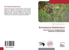 Portada del libro de Srirampore Subdivision