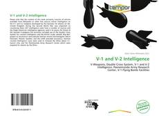 Bookcover of V-1 and V-2 Intelligence