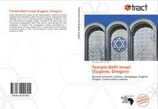 Portada del libro de Temple Beth Israel (Eugene, Oregon)