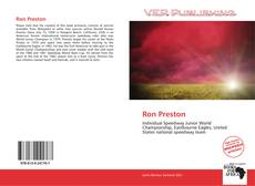 Bookcover of Ron Preston