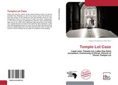 Bookcover of Temple Lot Case