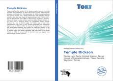 Capa do livro de Temple Dickson