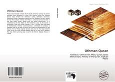 Bookcover of Uthman Quran