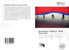 Capa do livro de Arcadius Rudolf Lang Gurland
