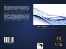 Ron Pompei kitap kapağı