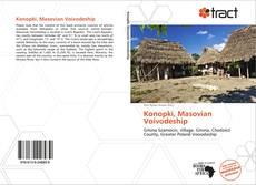 Portada del libro de Konopki, Masovian Voivodeship
