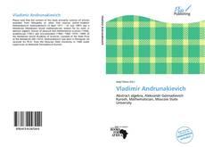 Buchcover von Vladimir Andrunakievich