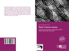 Bookcover of Peter Francis James