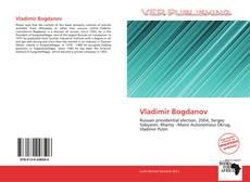 Обложка Vladimir Bogdanov
