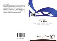 Buchcover von Peter Firth