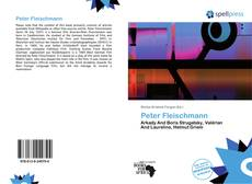 Bookcover of Peter Fleischmann