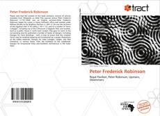Bookcover of Peter Frederick Robinson