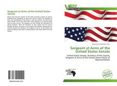 Couverture de Sergeant at Arms of the United States Senate