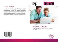 Capa do livro de Arcania – Gothic 4