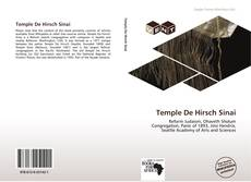Capa do livro de Temple De Hirsch Sinai