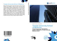 Portada del libro de Temple University School of Medicine