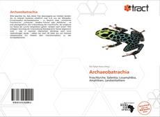 Archaeobatrachia kitap kapağı