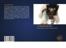 Archaeolemurinae kitap kapağı