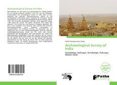 Copertina di Archaeological Survey of India