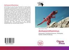 Couverture de Archaeornithomimus