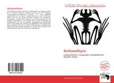 Archaeothyris kitap kapağı