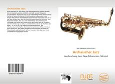 Bookcover of Archaischer Jazz