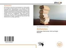 Bookcover of Archaismus
