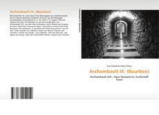 Обложка Archambault IX. (Bourbon)